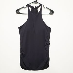 Vimmia High Neck Zip Back Athletic Tank Sz small